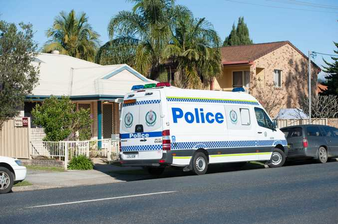 Police have seized items during a search of a home in Coffs Harbour this morning.
