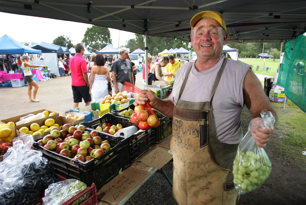 Get to the Fishermans Rd markets early for the best fruit and vege bargains.