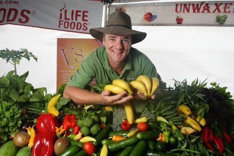 Kawana Farmers Markets founder Shane Stanley.