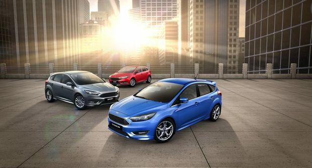 Revised Ford Focus range.