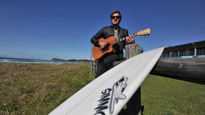 Lennox Head musician and surfer Jock Barnes will defend his title at The Boardmasters in Cornwall, England. Jock won the title last year in a return to competition surfing after breaking his neck in Bali in 2008.