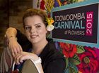 2015 Carnival of Flowers ambassador April Lancaster-Smith.