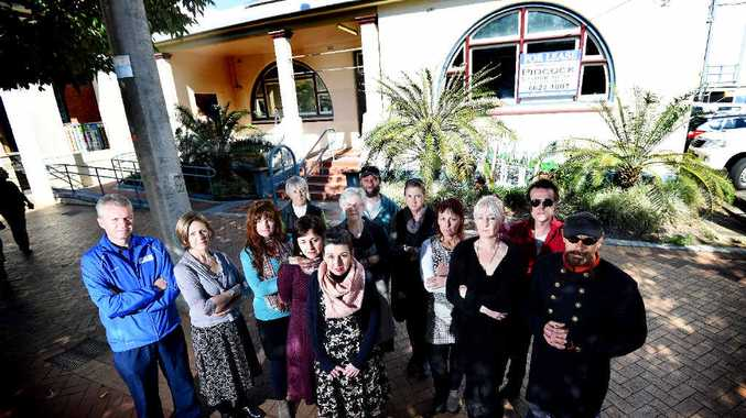 BURY IT: Shop owners in Magellan Street are concerned over proposals to put a funeral home in the CBD.
