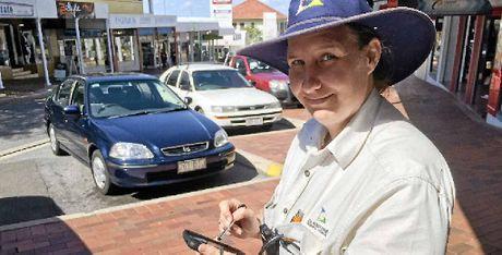 Parking compliance officer Suzi.