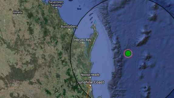5.3 magnitude earthquake in the Coral Sea was felt on the Sunshine Coast.