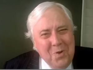 Clive Palmer's goodbye to Bronwyn Bishop