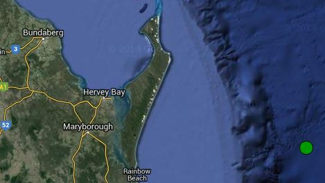 A 5.2 magnitude quake hit off Fraser Island on Thursday.