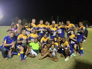 Murgon Mustangs' players plan solidarity war-dance