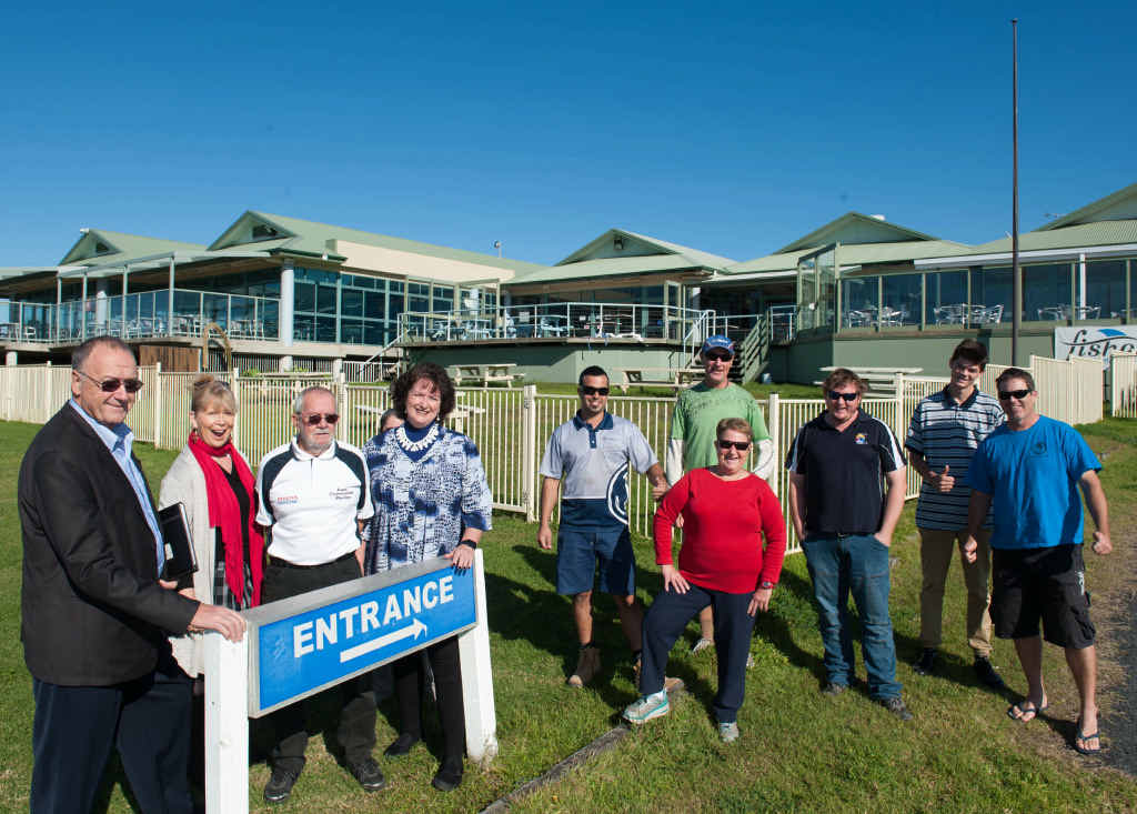 LIFELINE: Members and directors Coffs Harbour Deep Sea Fishing Club are hopeful of a rescue package.
