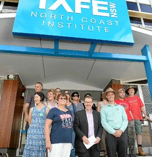 SPEAKING OUT: The Greens will launch a new 'Stop Privatisation Before it Stops TAFE' campaign in Coffs Harbour on Monday.