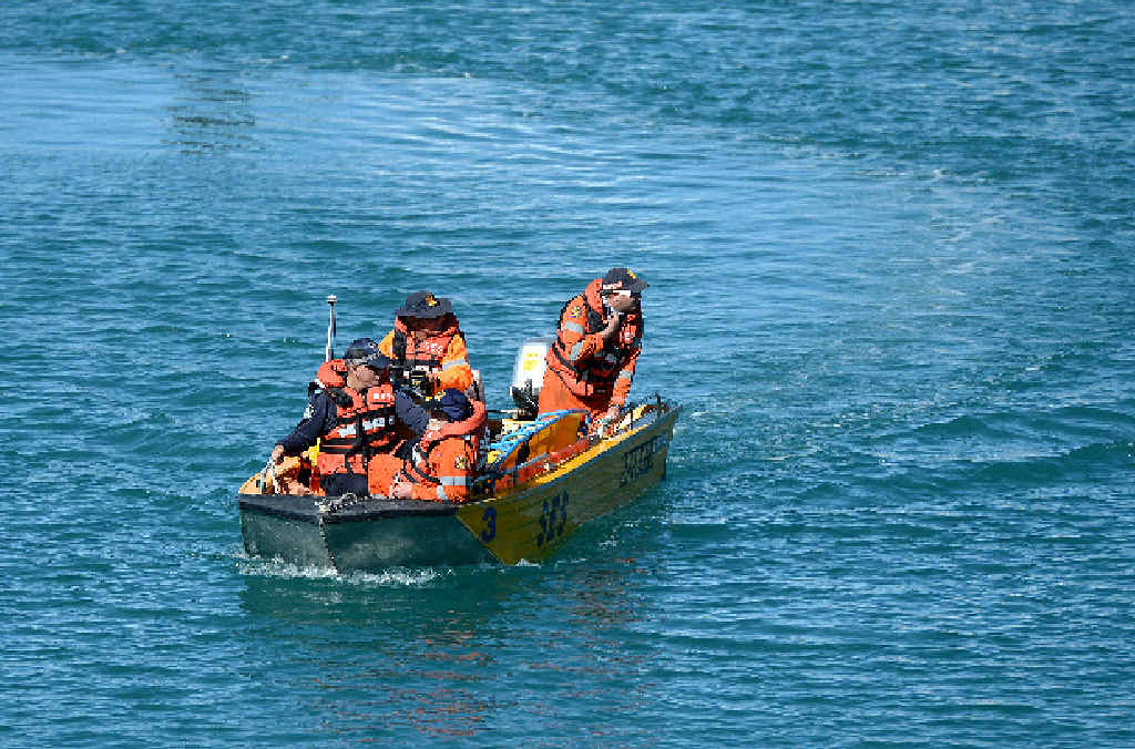 ON THE WATER: Mackay SES and police continue their search for missing man Gregory Spindler as they try and narrow down his whereabouts.