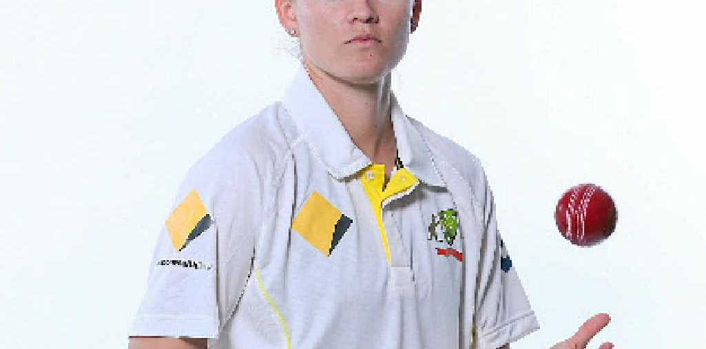 BACK IN PLAY: Emerald's Jess Jonassen, 22, has recovered from a knee injury and is in England for the Ashes series.