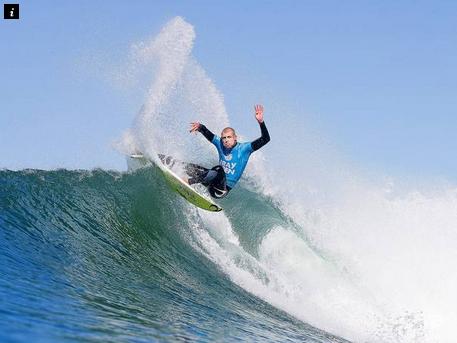 World champion surfer Mick Fanning