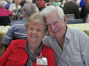 PHOTOS: Seniors catch up with old friends at social event
