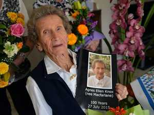 HAPPY BIRTHDAY: Agnes Knox turns 100.