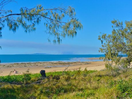 This block of land at Tannum Sands just sold for over a million dollars. It is beach front and has beautiful views. Photo Mike Richards / The Observer