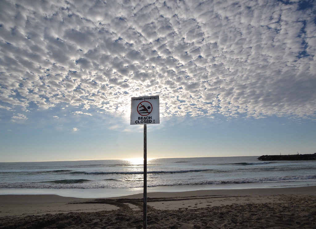 Beaches in Evans Head remained closed overnight after a shark attack on Main Beach.