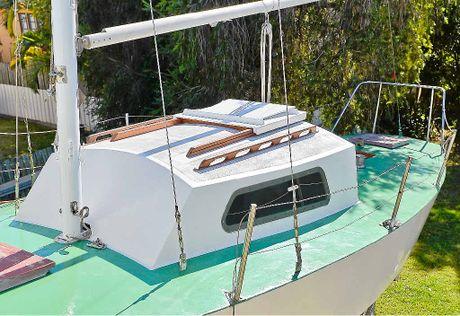 Noel Ingrey has spent 20 years rebuilding a yacht.