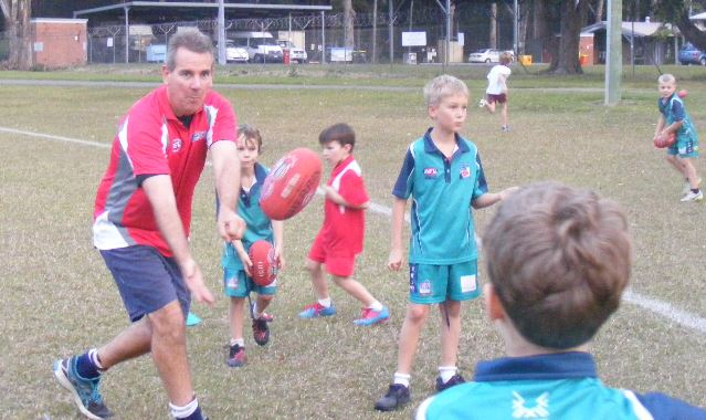 AFL volunteer Steve Ryan has received the recognition of his peers.