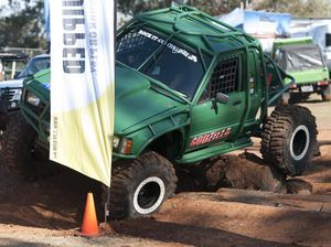 Rock It 4WD demo at expo