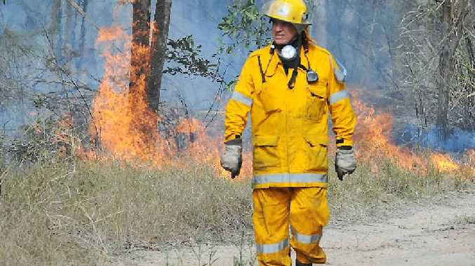 CONCERNING: It could be a grim bushfire season on the Fraser Coast if weather conditions do not co-operate, a Rural Fire Service spokesman has said.