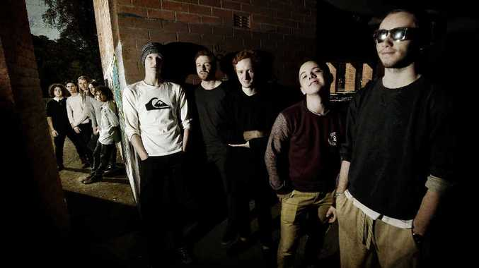 HIGH HOPES: Richmond River High School bands Melted Couch and Next Week have entered the Triple J Unearthed competition.