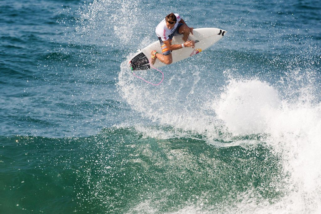 Julian Wilson in action.