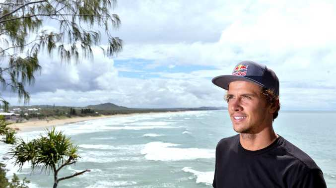 Julian Wilson at home in Coolum.