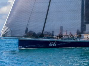 Alive smokes the Brisbane to Keppel Yacht Race