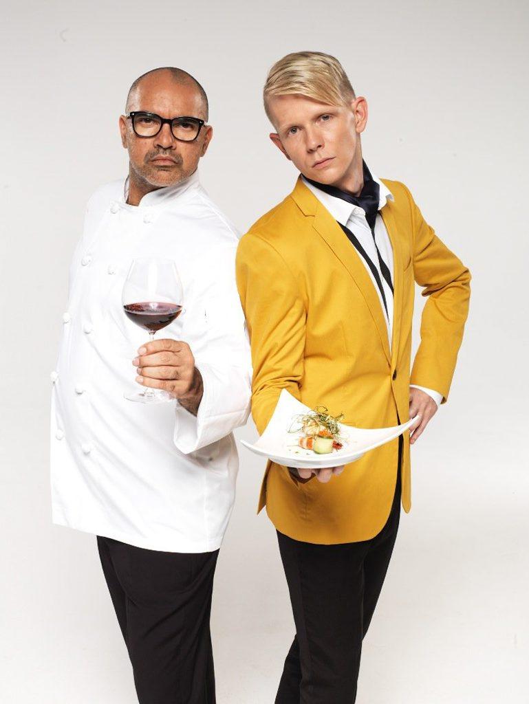 The Hotplate contestants Conrad and Liam.