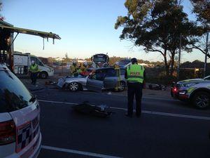 Three taken to hospital after Marcoola crash
