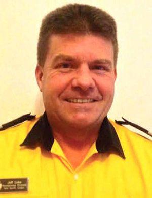 NOMINATED: Volunteer fire captain Jeff Luke has been recognised for his tireless work.