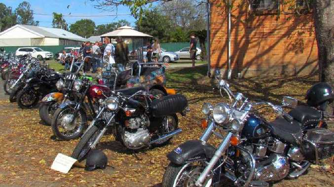 FINE DAY: The weather played along for the inaugural Coutts Crossing Car, Bike and Ute Show.