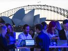 Computer fans check out Windows 10 in Sydney
