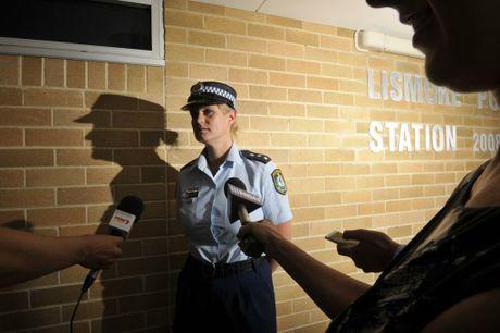 Detective Sergeant Bernadette Ingram briefs the media.