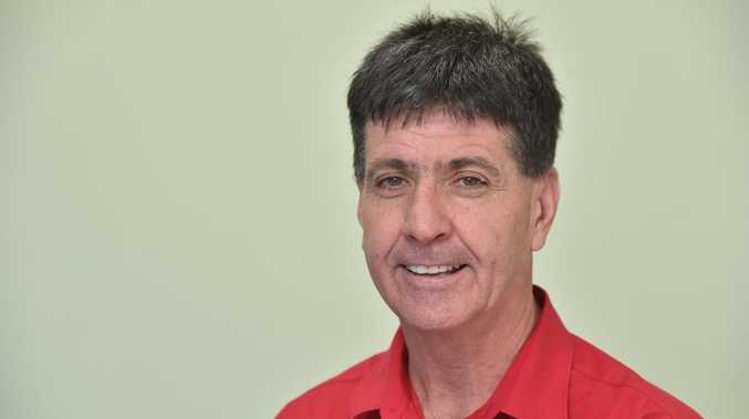 Member for Maryborough - Bruce Saunders.
