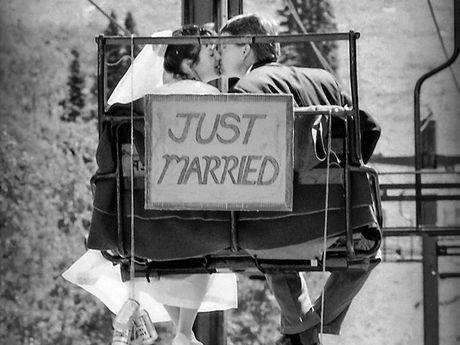 Julie & Scott Rhodes took a unique wedding trip.