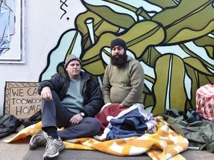 Homeless for a Week dads spend freezing night on street