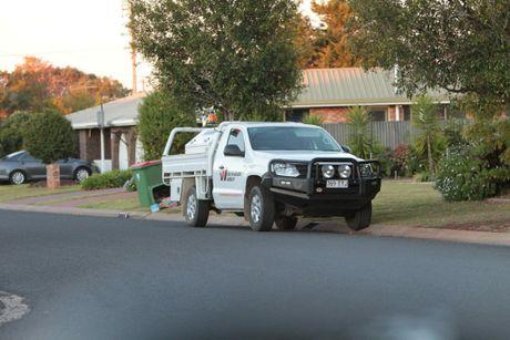 The Volkswagen Amarok was found in Jennifer Crescent about 5pm.