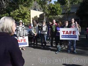TAFE Protest