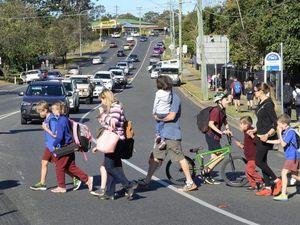 Danger at school crossing in Brassall