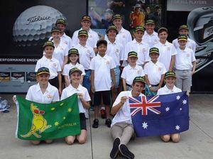 Queensland coast golf kids a hit in Southern California