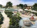 An artist's impression of the Pavillion area at the Elements of Byron resort, from the resort's website.