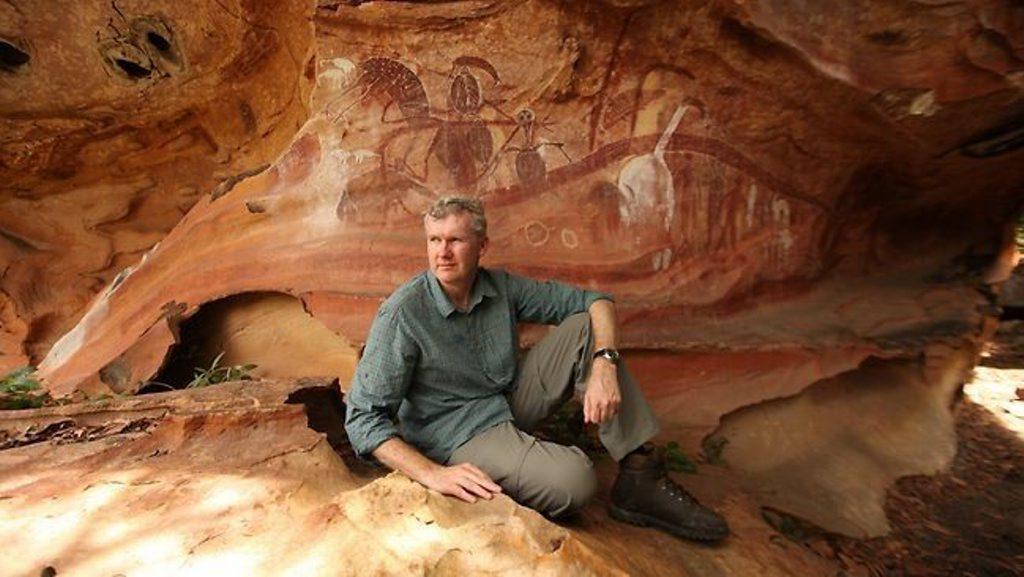 Tony Burke on his trip to Uluru.