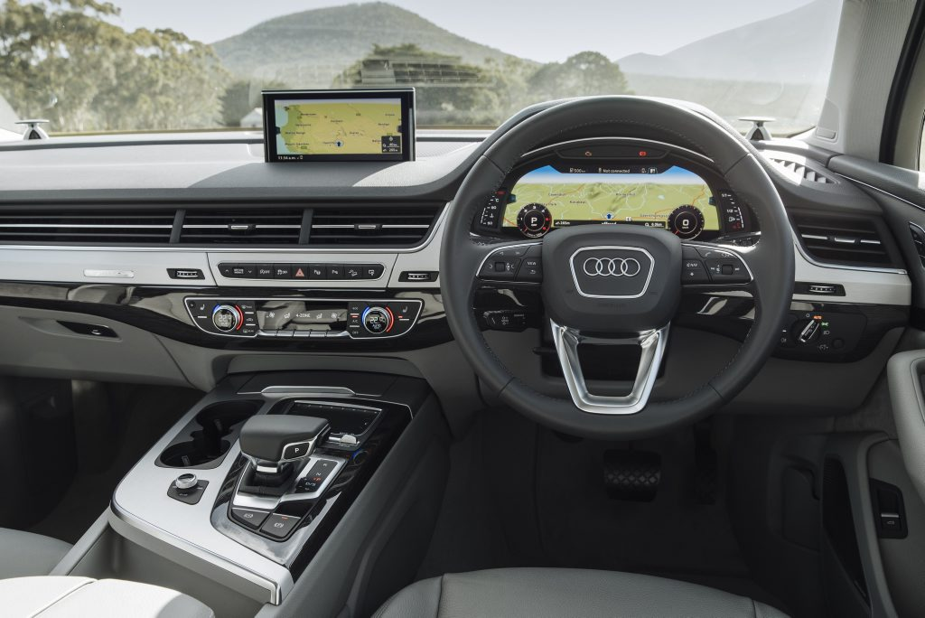 CABIN FEVER: New Q7's interior is truly a benchmark, blending luxury, space and comfort impressively well.