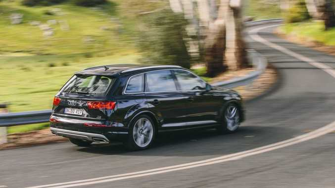 PERFECT PARTNER: All-new Q7 is 240kg lighter than its predecessor meaning the 200kW/600Nm 3.0-litre turbodiesel punts it along at a fair rate