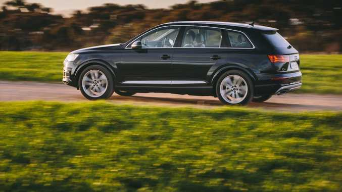 LARGE PACKAGE: The Q7 has always looked a monster on the road, but new variant is actually slightly smaller dimensionally, helping it look more agile than before