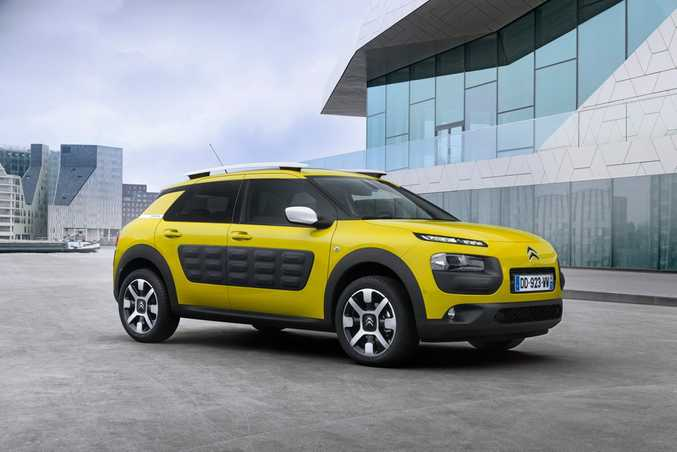 THE WILD ONE: Citroen's C4 Cactus arrives next year in Australia and is sure to bring plenty of welcome attention to the quirky French brand.