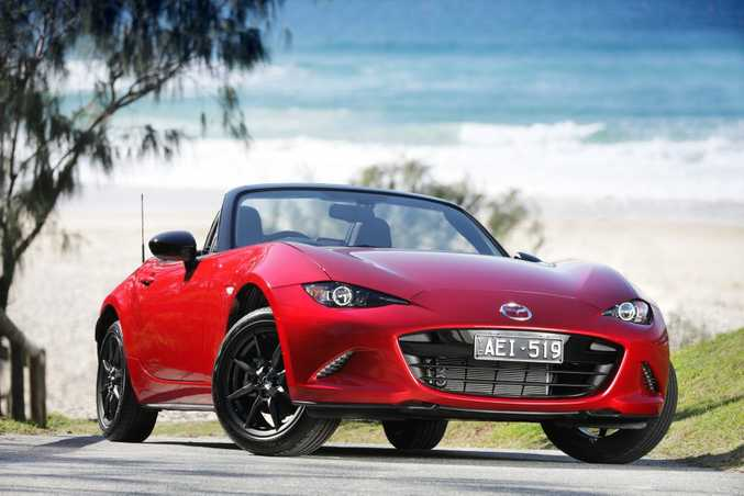 BARGAIN: At $31,990 before on-roads, the striking MX-5 takes the fight to Toyota's 86 costing similar money