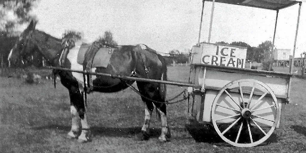 John Anderson also has fond memories of the Haddows Ice Cream cart which, was owned by his grandfather.